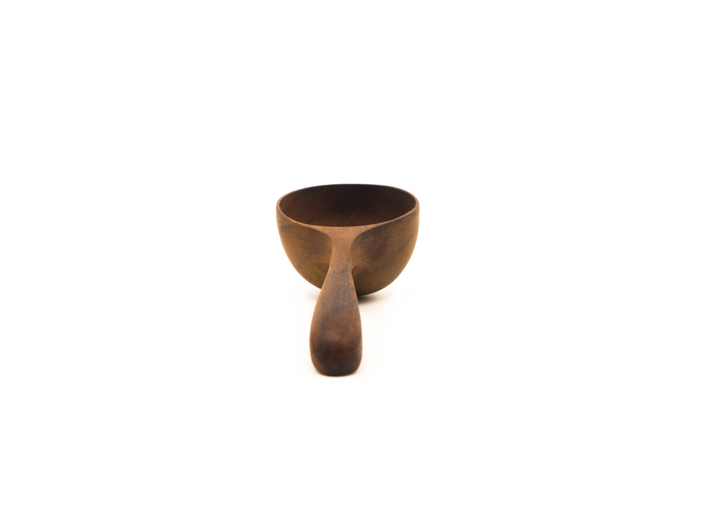 Teak Coffee Scoop 5""