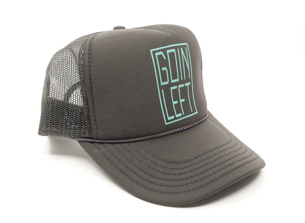 Goin Left Trucker Hat, OG - Grey