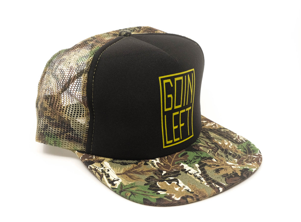 Goin Left Trucker Hat, OG - Camo/Black