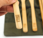 Goin Left Reusable Bamboo Utensil Set
