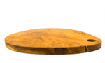 "Teak Cutting Board 12"" Oval Palette"