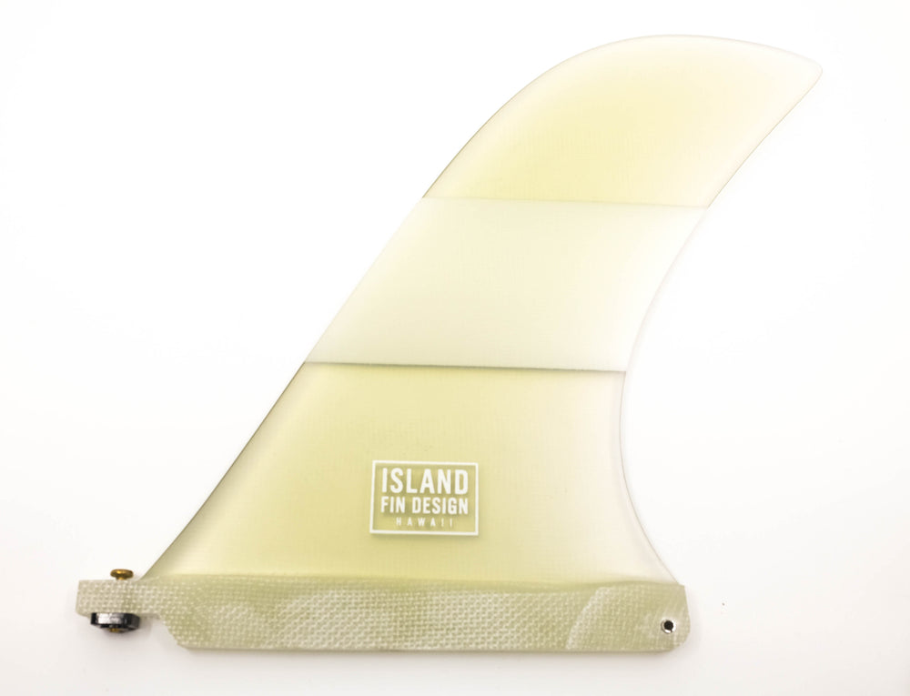 9.5 Leeward Fin - Clear/White