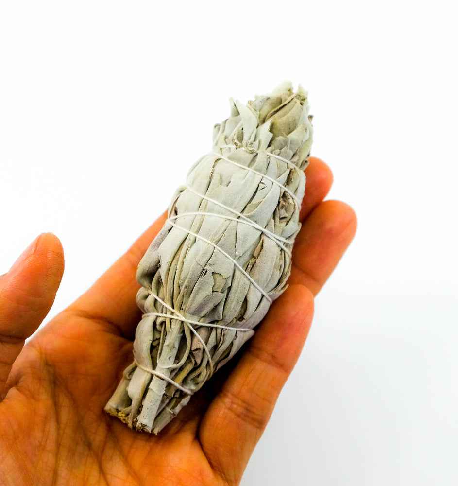 Mini White Sage Torch