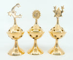 Brass Celestial Incense Burner - Sun