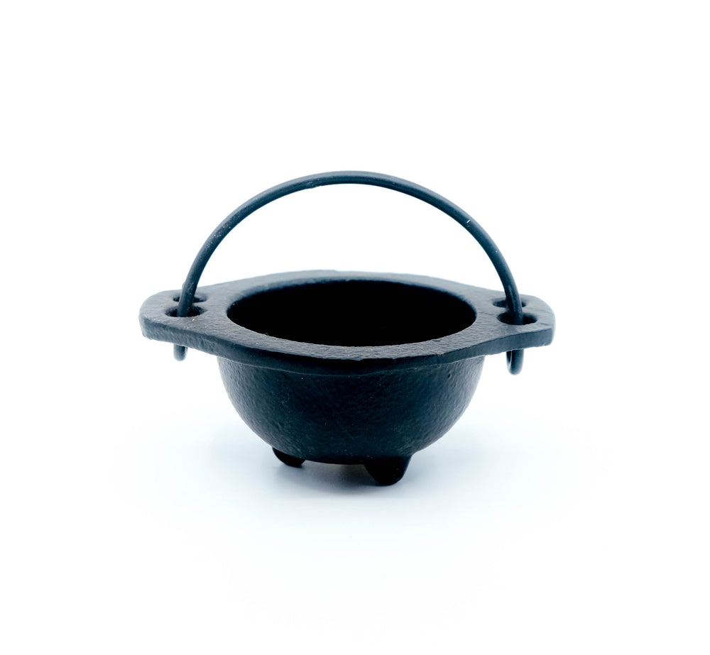 Cast Iron Cauldron Smudge Pot - 2.5""