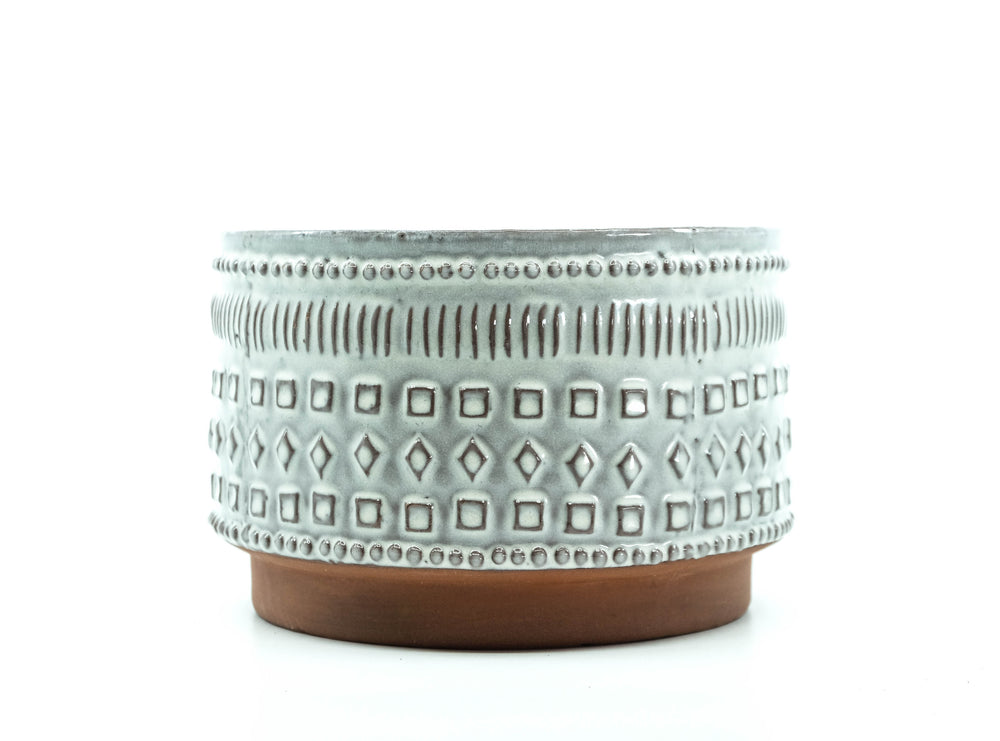 Stamped Pot 7.25""