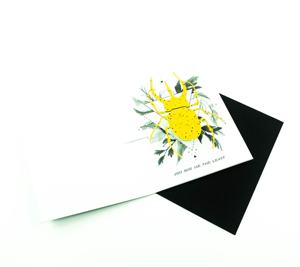 Beetle Pop-Up Card