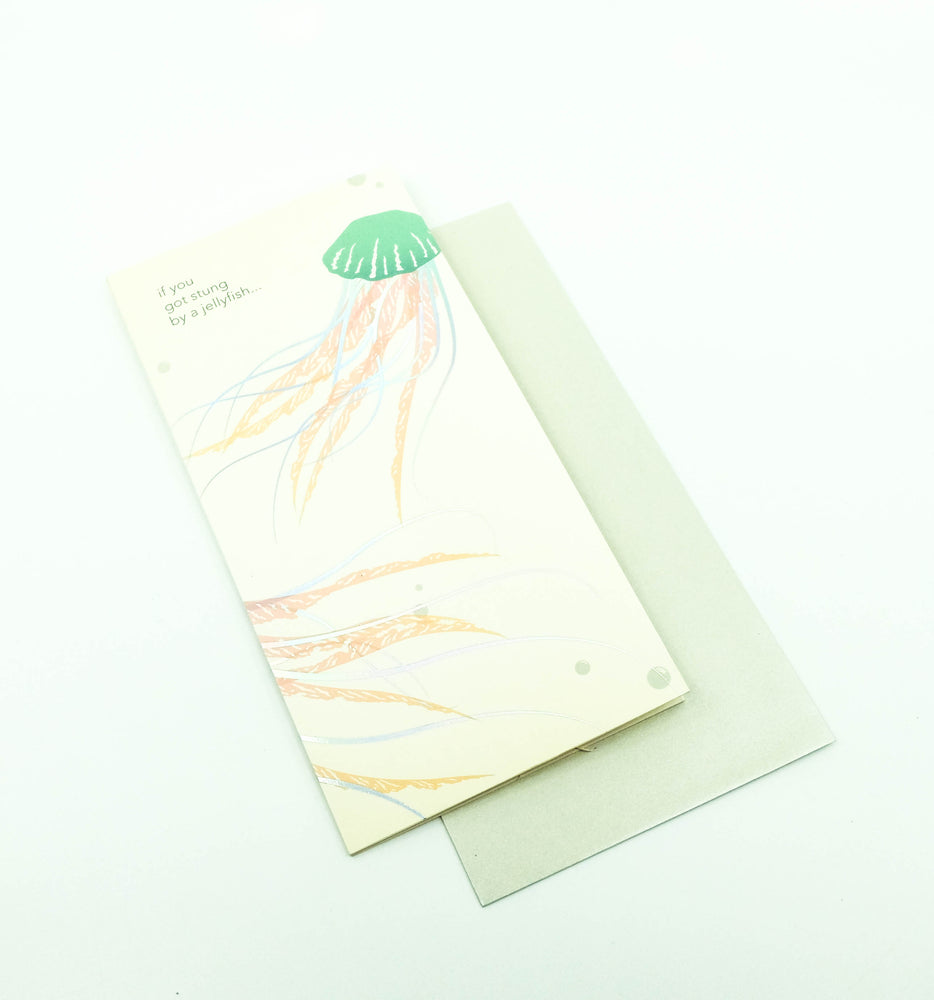Jellyfish Pop-Up Card