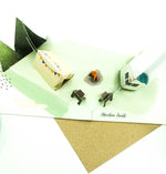 Camping Adventure Pop-Up Card