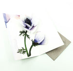 Anemone Flower Birthday Pop-Up Card
