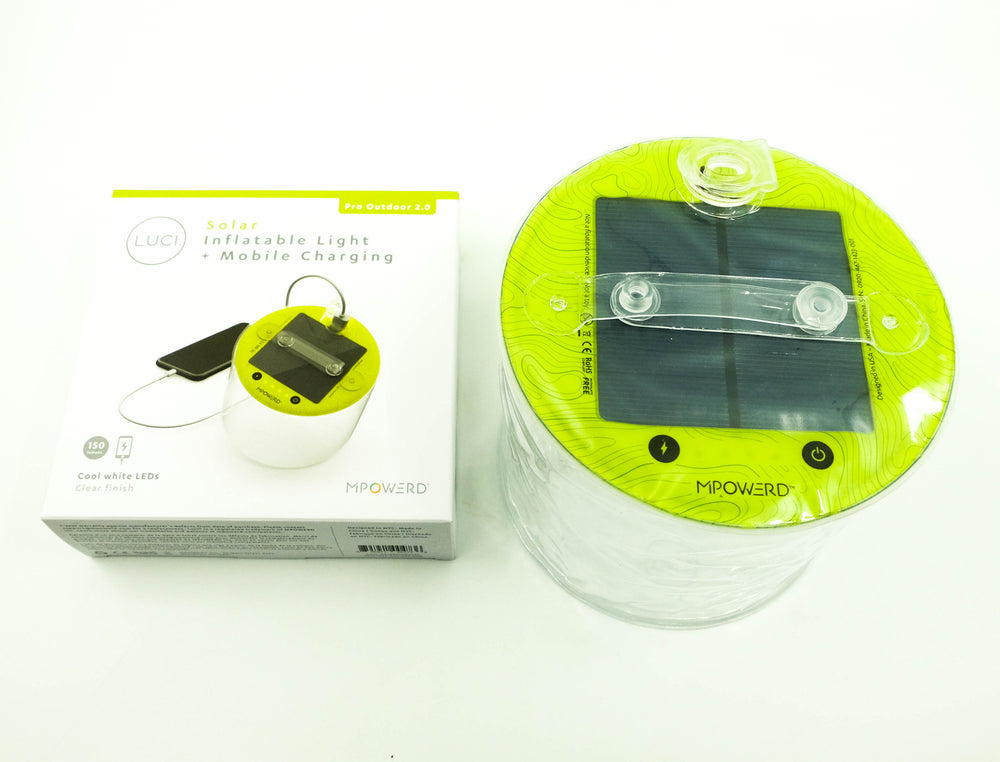 Solar Inflatable Light + Mobile Charging - Pro Outdoor 2.0