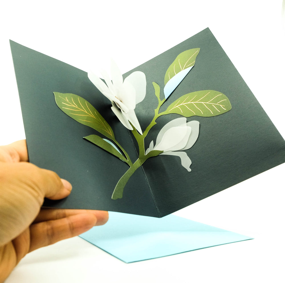 Magnolia Pop-Up Card