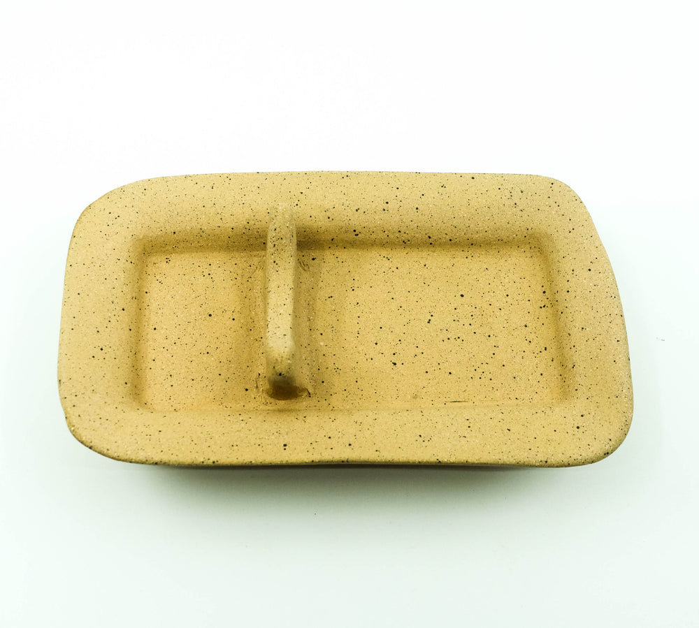 Ceramic Incense Rest - Speckled Buff Stoneware