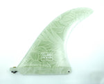 8.5 Islander Fin - Foliage White Shadow