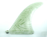 9.5 Islander Fin - Foliage White Shadow