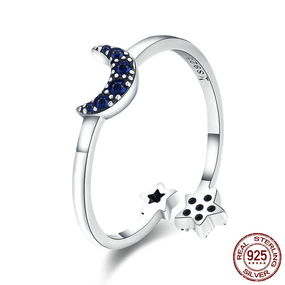 Moon Star Ring - Ebay Jewellery