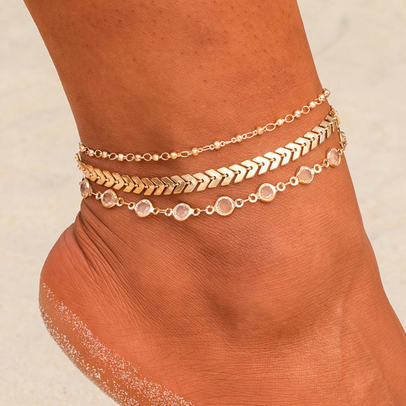 Crystal Anklets - Ebay Jewellery