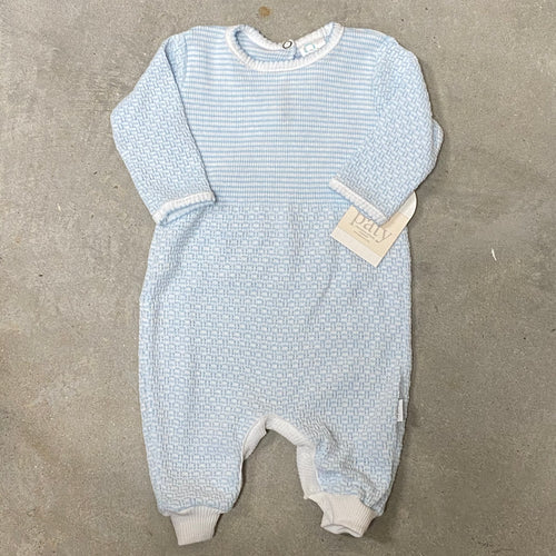 Long Sleeve Romper Key Hole Back