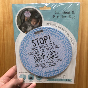 Stroller/Carrier Tags