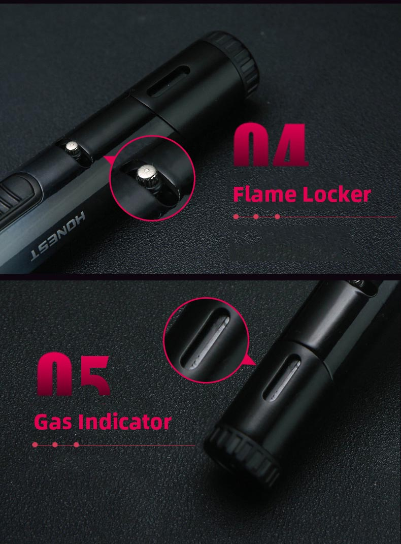 Refillable pen lighter