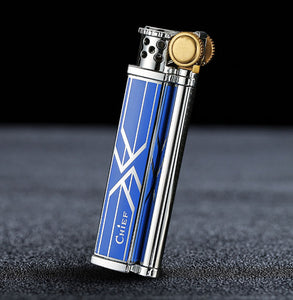 Slim Vintage Oil lighter Windproof