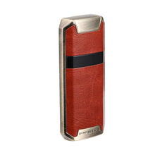 Load image into Gallery viewer, Leather Skinned Double Arc Plasma Lighter  - Touch Control