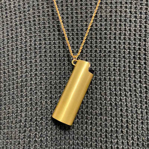 Pendant Style Metal Shell for BIC J6 Lighter