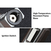 Load image into Gallery viewer, Heavy Duty Butane Torch Pen Lighter Windproof Jet Spray Gun - Powerful Turbo Flame