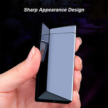 Load image into Gallery viewer, Dual Plasma Lighter Inclined X Arc Lighter
