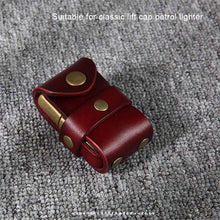 Load image into Gallery viewer, Handmade Genuine Leather Kerosene Lighter Case