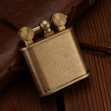 Load image into Gallery viewer, Retro Lift Arm Lighter Brass Kerosene Lighter