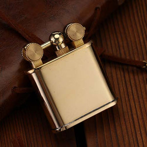 Retro Lift Arm Lighter Brass Kerosene Lighter