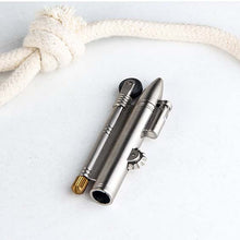 Load image into Gallery viewer, WW2 Flameless Rope Lighter with Bullet Cab and Rope adjust wheel