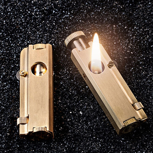 Vintage Trentch Lighter Brass kerosene lighter Block Lighter