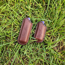 Load image into Gallery viewer, Handmade Genuine Leather Lighter Case For Cricket Lighter