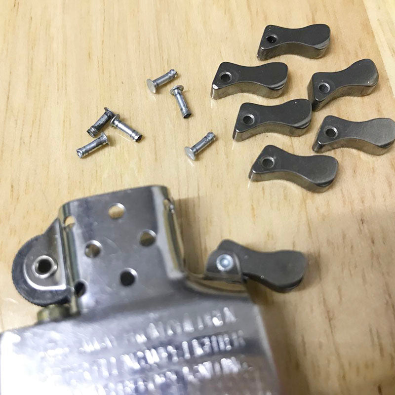 Cam and Cam Rivet For Petrol Lighters