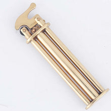 Load image into Gallery viewer, Ultra Thin Soft Flame Butane Gas Lighter Retro Brass Lighter