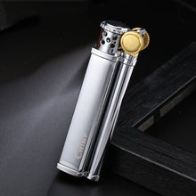 Load image into Gallery viewer, Slim Vintage Oil lighter Windproof