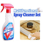 Multi-Functional Effervescent Spray Cleaner Set