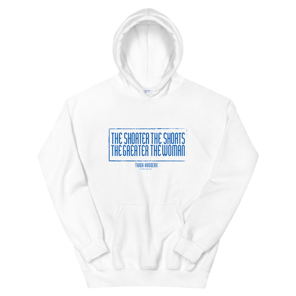 The Shorter The Shorts Women's Hoodie