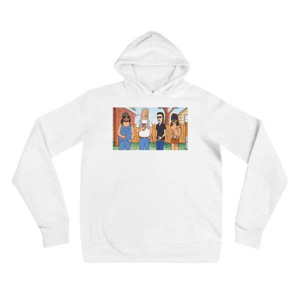 King of the Mullet Unisex hoodie
