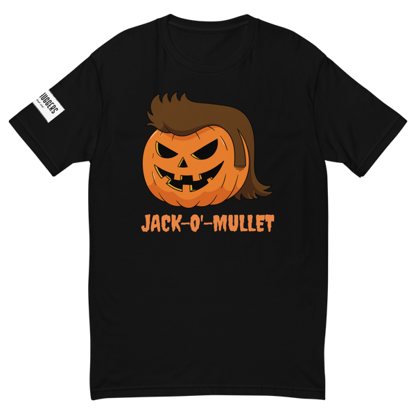 Pumpkin Mullet Short Sleeve T-shirt