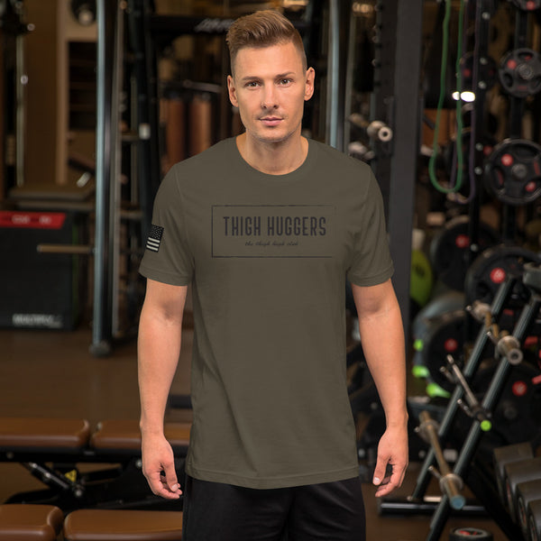 Army Green Short-Sleeve Unisex T-Shirt