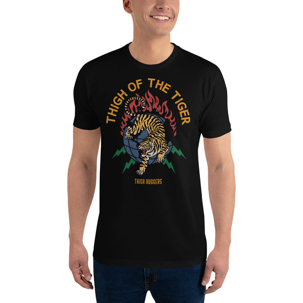 Men's Thigh Of The Tiger T-shirt