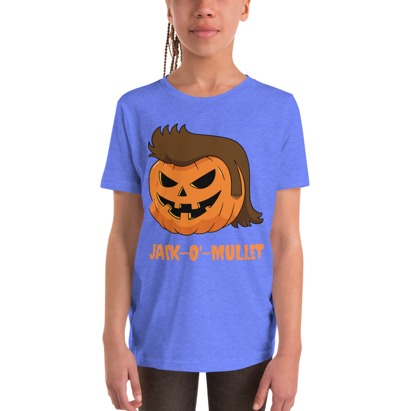Pumpkin Mullet Youth Short Sleeve T-Shirt