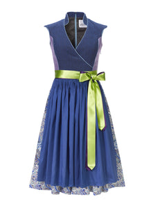Dirndl Cache Cœur Blue Dream