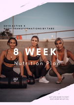 8 Week Personalised Nutrition Plan