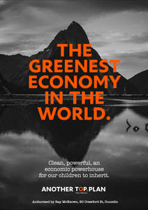 Greenest Economy #1 A3 Poster – FREE DOWNLOAD