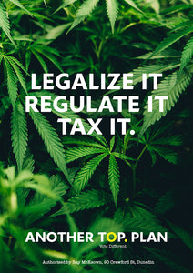 Legalize It A3 Poster – FREE DOWNLOAD