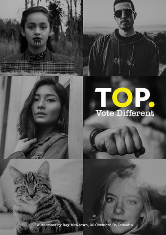 Vote Different #1 A3 Poster – FREE DOWNLOAD